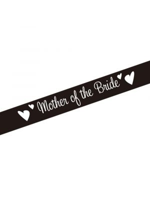 Mother of the Bride Party Sash