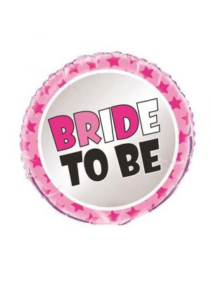 Bride to Be Foil Balloon