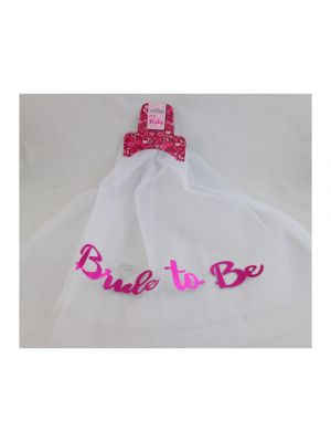 Hens Night Bride to Be Veil