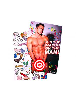 pin the macho hens night game