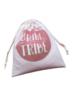 Rose Gold Bride Tribe Gift Bags