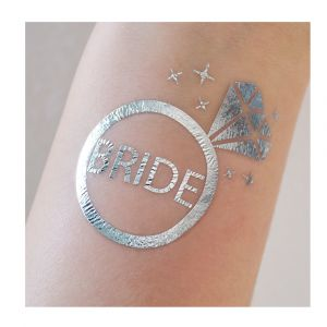 Bride Diamond Ring Tattoo