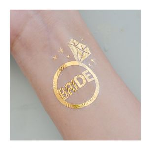Gold Bride Tattoo