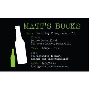 Bottles Invite