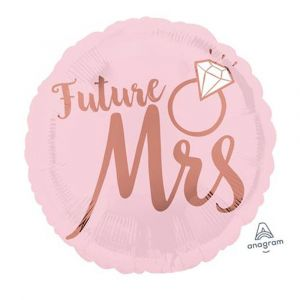 Future Mrs Blush Pink Foil Balloon