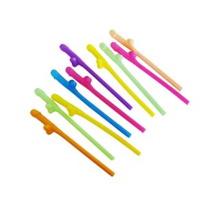 Mixed coloured Pecker Straws