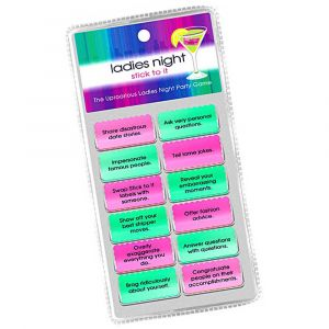 Ladies night Stick to It Hens Party Game