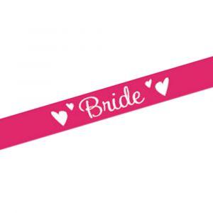 Pink Bride Sash
