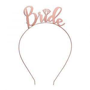 Rose Gold Bride Headband